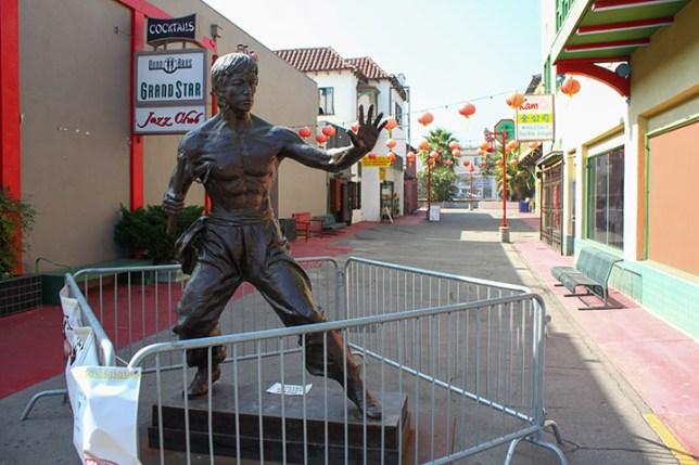 ロサンゼルスのチャイナタウン (Chinatown in Los Angeles)