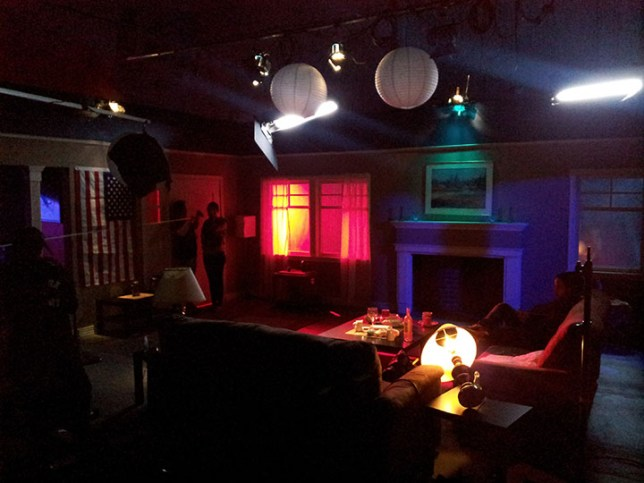 NYFA Stage production on a Sound Stage