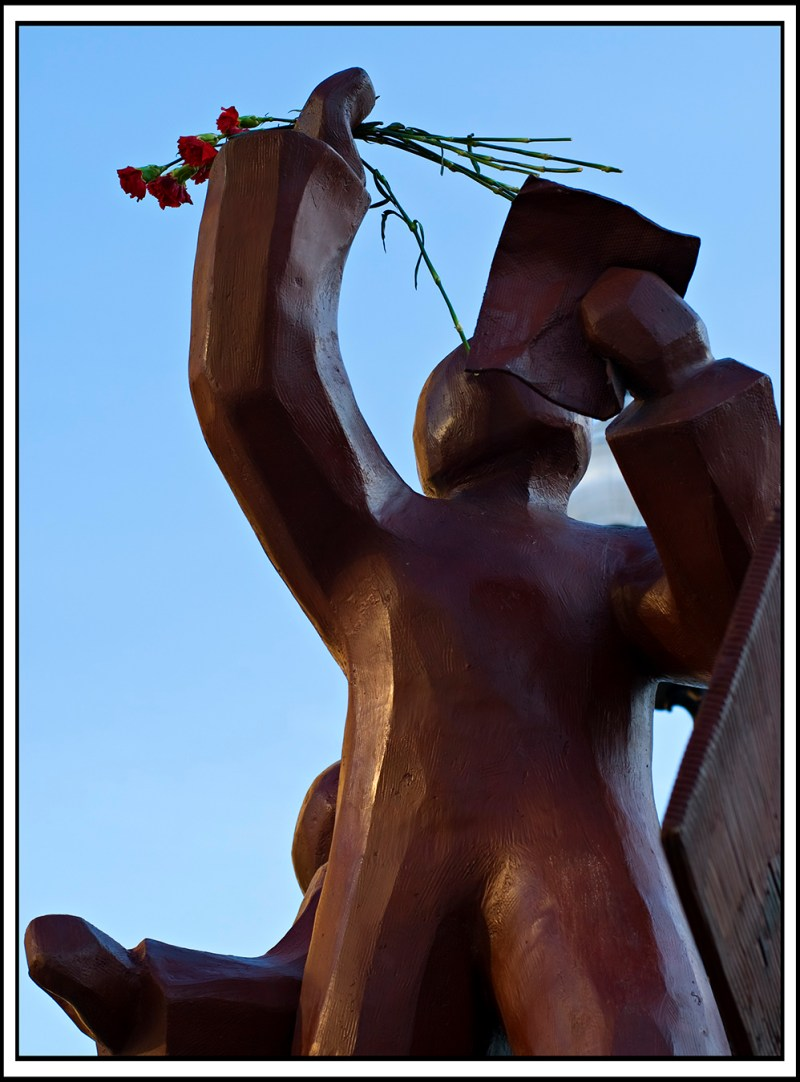 Haymarket Riot with Flowers