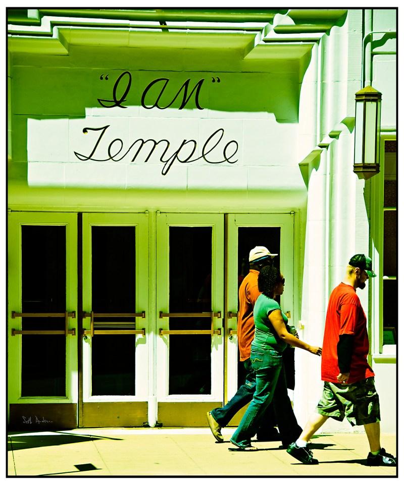 I AM Temple Faux Lomo