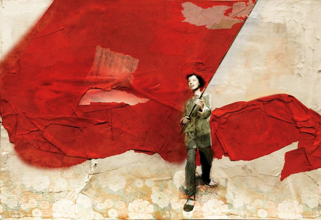 bandiera - rossa - antonello - silverini - b17 iillustrations