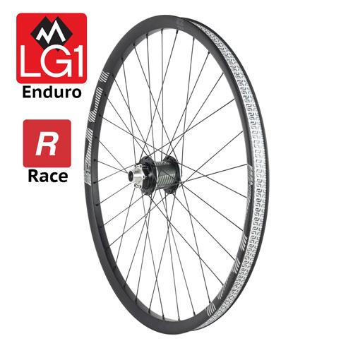 Ruota anteriore LG1 Race Carbon Enduro