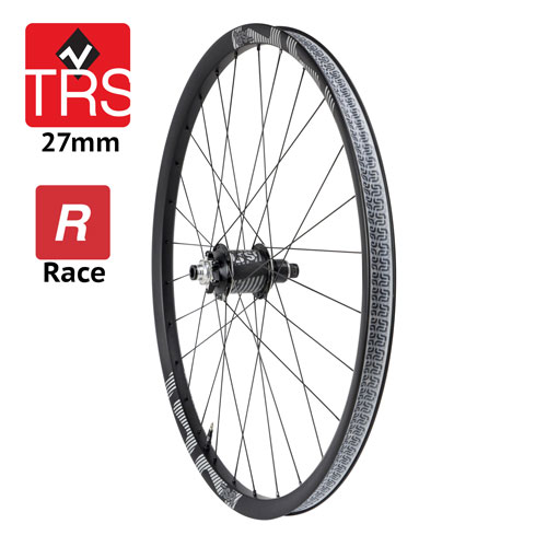 Ruota posteriore TRS Race Carbon 27mm