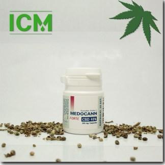 Medocann FORTE 40% CBD kaps 20 (k)