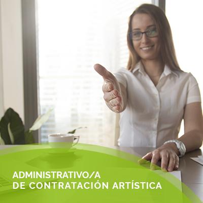 administrador contratacion artistica