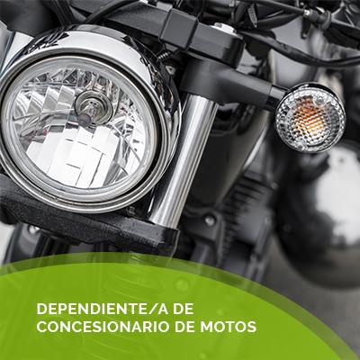 Dependiente/a de Motos