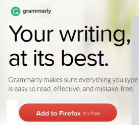 Automatically improve your writing