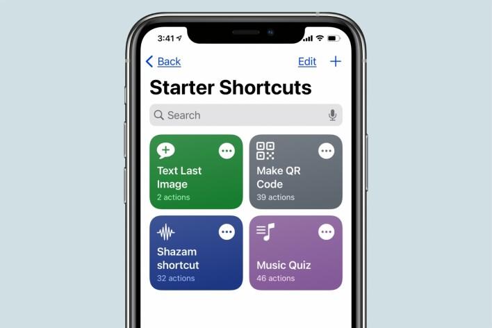 Shortcuts app iOS 14