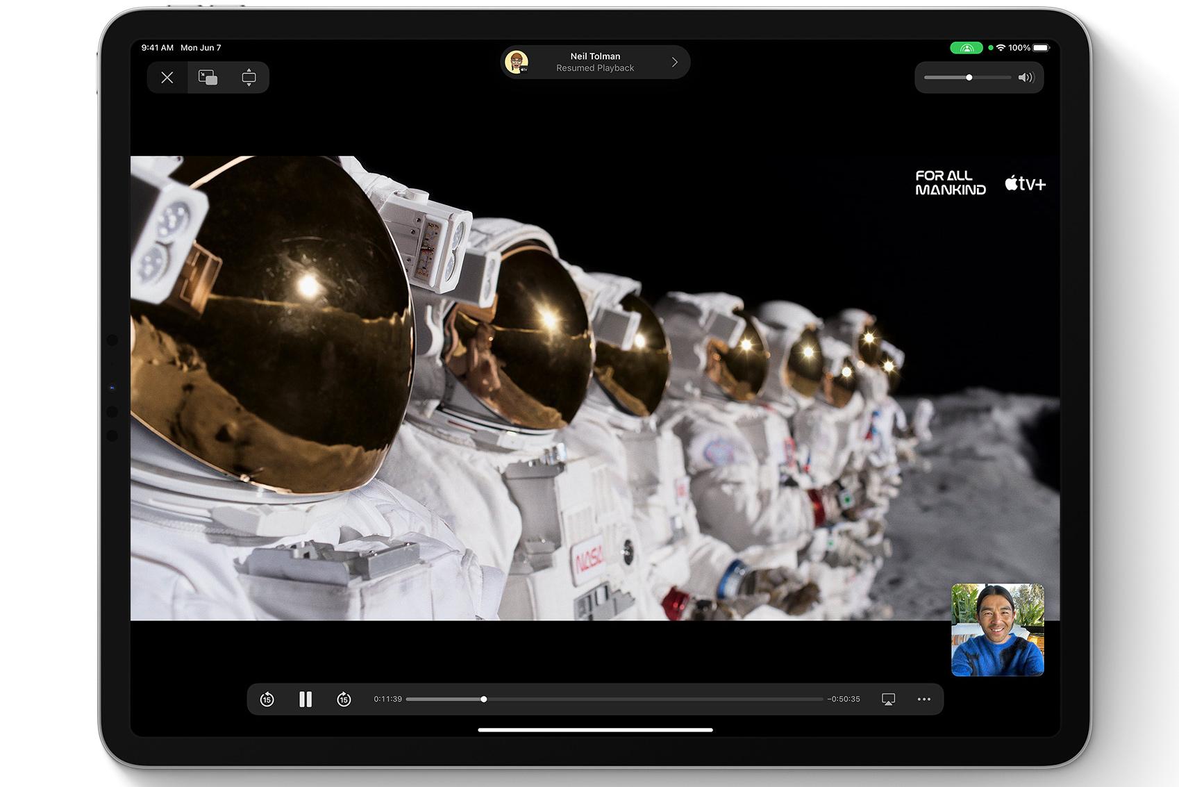 iPadOS 15 shareplay