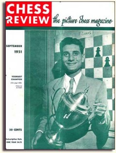chess review larry evans