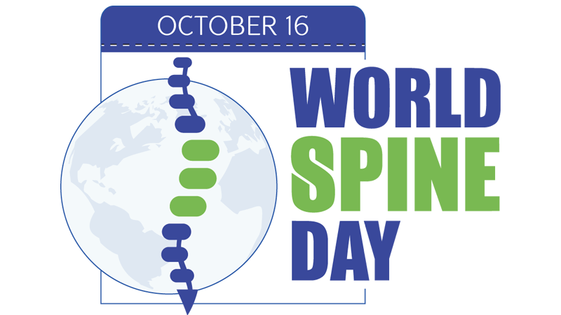 World Spine Day – Straighten Up and Move