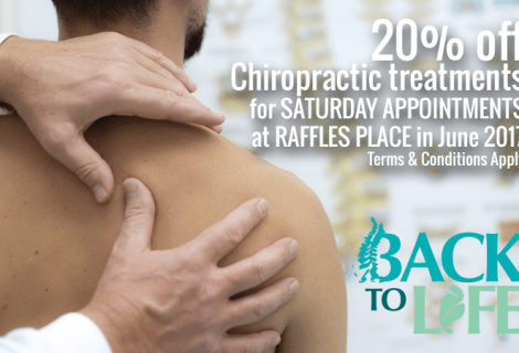 20% Off Chiropractic Treatments for Saturday Appointments