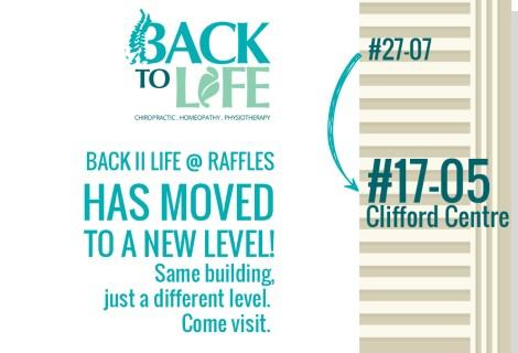 Back II Life @ Raffles has moved