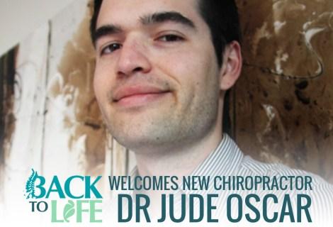 Back II Life Welcomes Dr Jude Oscar