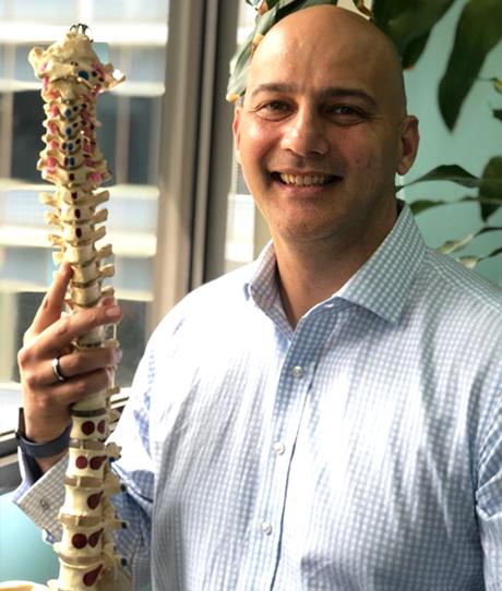 Dr Neil Stakes, M.Chiro (SA) -