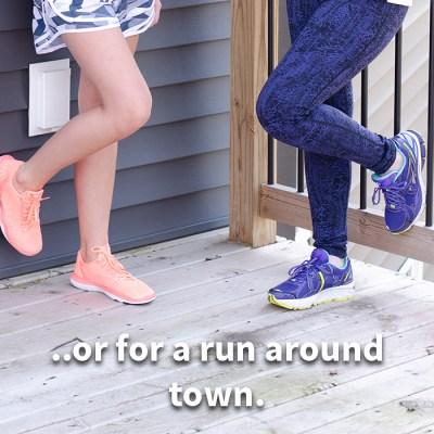 athletic shoes, coral women's tennis shoes, blue women's tennis shoes