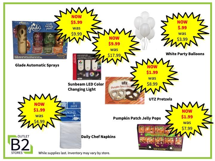 General Merchandise, Current In-store Deals 2