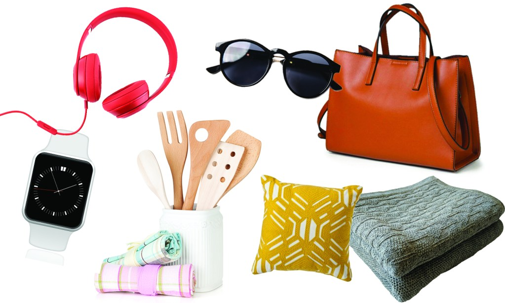 General Merchandise, accessories, kitchen items, home decor, purses, towels, toys, electronics, blankets, bedding