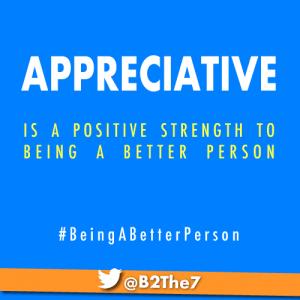 appreciative