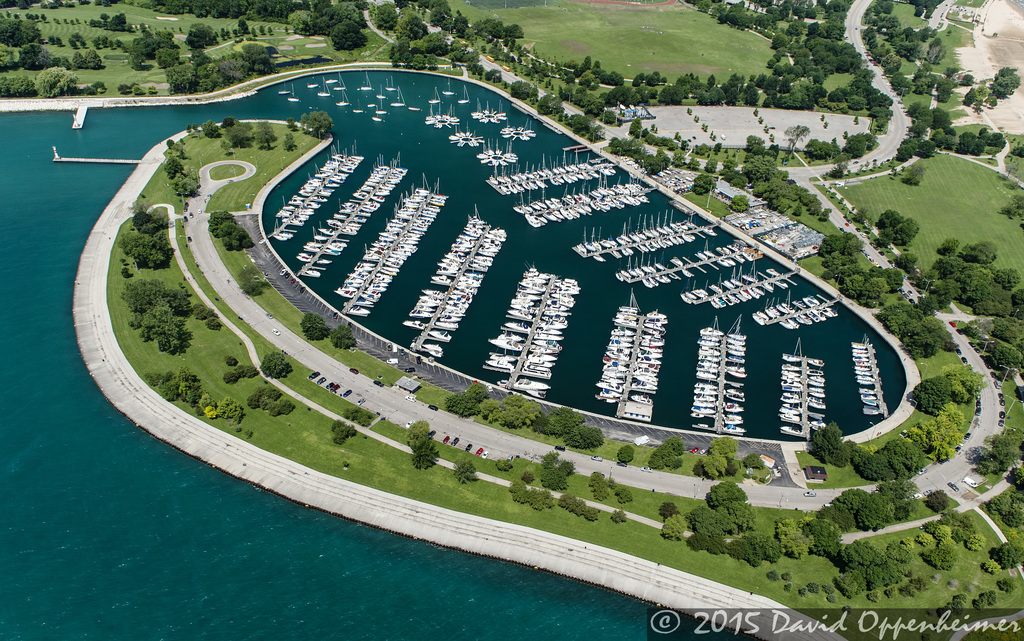 Chicago Corinthian Yacht Club At Montrose Harbor Chicago