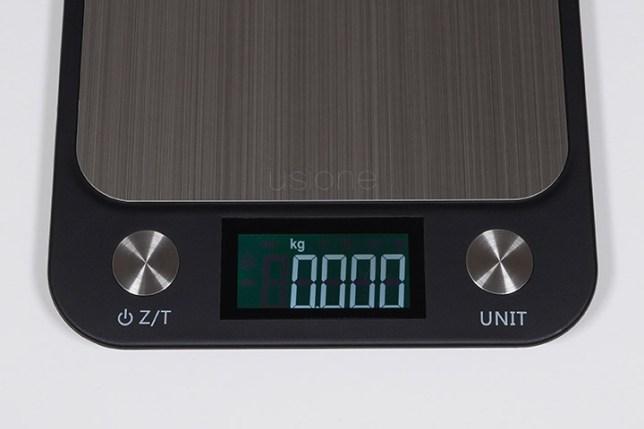 Electronic Kitchen Scale-kg  デジタルキッチンスケール-キログラム