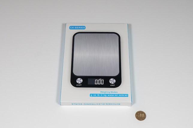 Electronic Kitchen Scale-box デジタルキッチンスケールの箱