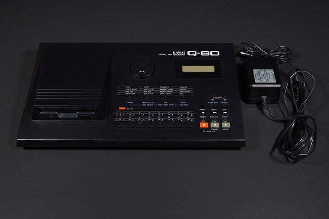 KAWAI デジタル MIDI シーケンサー Q-80 + ACアダプター