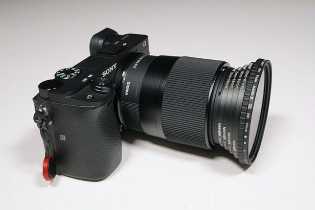 α6400 + SIGMA 30mm + ステップアップリング