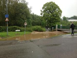 River Rea at Mill Walk, Northfield. Image by @kooboogas on twitter