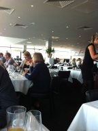 MPW Steakhouse at the top of The Cube - by Traci