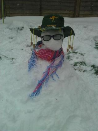 Summer snow! by Laura Bowker