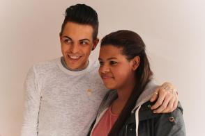 Olivia Douglas fro Rubery meets TOWIE star Bobby