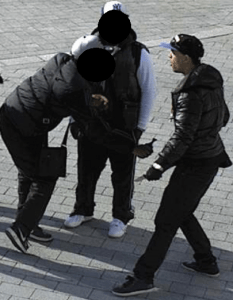 CCTV captured the incident | From West Midlands Police | Click for larger