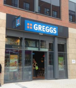 Greggs store opened yesterday