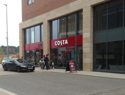 Costa coffee shop up and running