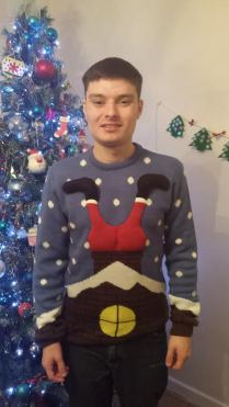 Luke from Leyhill helped fundraise by wearing his jumper to Baskerville School :)