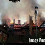 Arson devastates the Manor