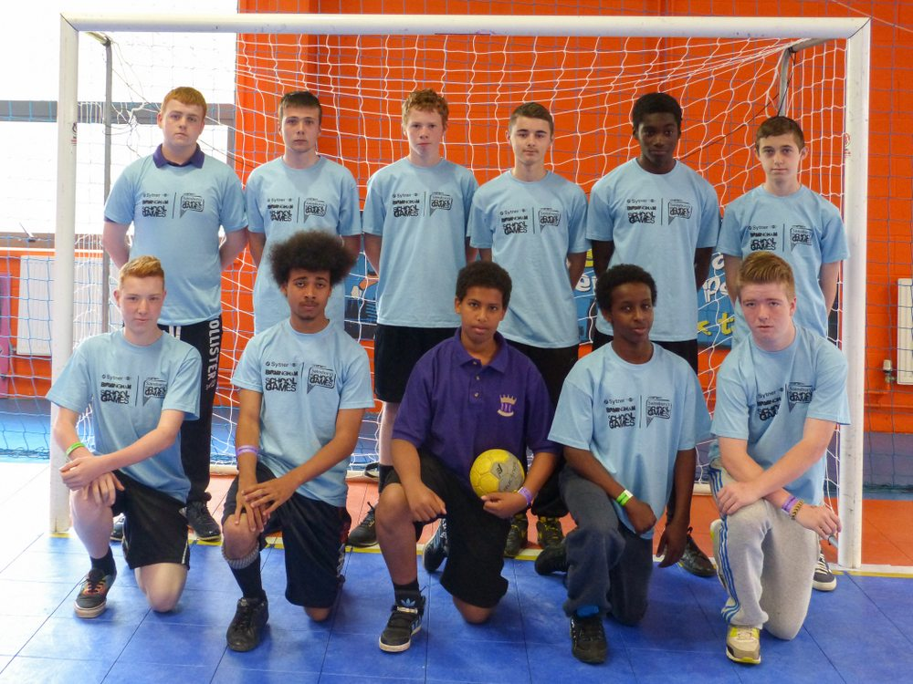 ARK Kings Academy handball team at Birmingham School Games Summer Festival 2014