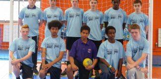 ARK Kings Academy handball team at Birmingham School Games Summer Festival 2014