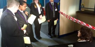 ARK Kings Academy students use their French language skills to investigate a crime