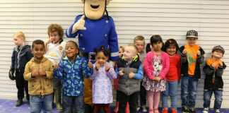 Fireman Sam was called out to attend Northfield Shopping Centre last week, much to the delight of visiting youngsters.
