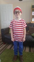 Classic Where's Wally?! costume from Charlotte Hough