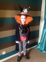 Fab homemade Mad Hatter costume from Marie Smith