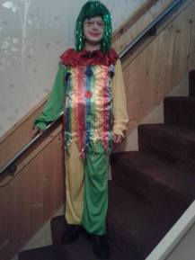 Jaiden as Circus the Clown