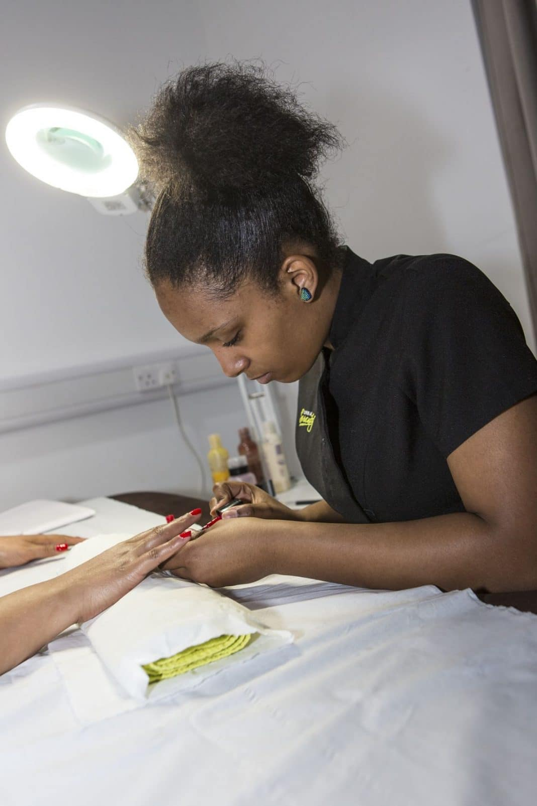 The team of trainee hairdressers from Bournville College will be offering the free hair, beauty and nail treatments, plus children's face-painting, at Northfield Shopping Centre on April 26.