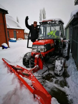 snow day at work 2