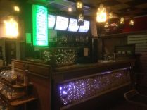 Bar serves craft beers, wine etc plus a good variety of non-alcoholic drinks