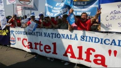 """Photo of Marți, protest al membrilor """"Cartel ALFA"""" la Ministerul Muncii. """"40 de lei în plus la salariul minim, nu acoperă nici măcar cheltuielile suplimentare pentru măşti"""""""