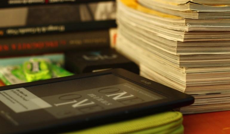 Perderse entre libros (o Libros 3 – Kindle 1)
