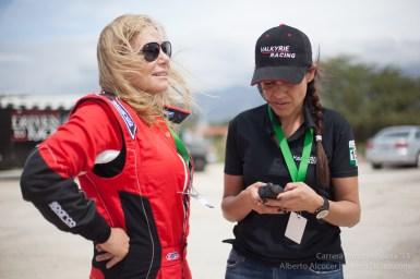 Renee Brinkerhoff y su Team Manager